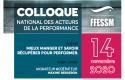 Colloque national des acteurs de la performance