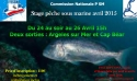 Stage Pêche sous marine le 24 au 26 Avril 2015