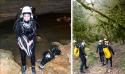 Stage découverte de la plongée souterraine CODEP82