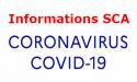 Informations Coronavirus pour les SCA